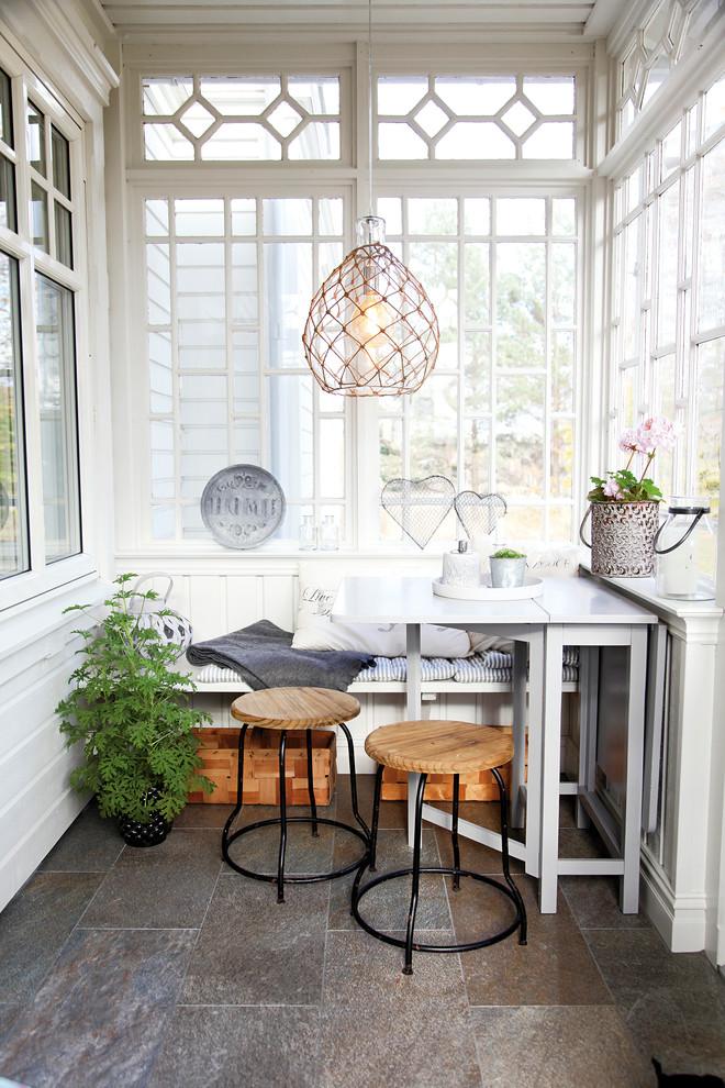 Scandinavian Sunroom Design