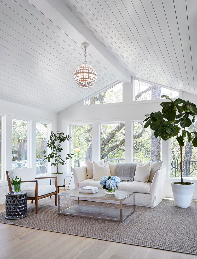 Transitional Sunroom Design