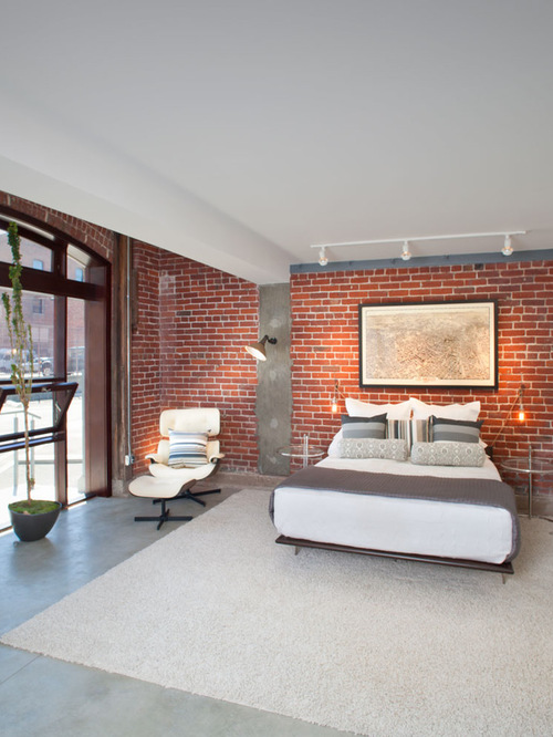 brick-wall-bedroom