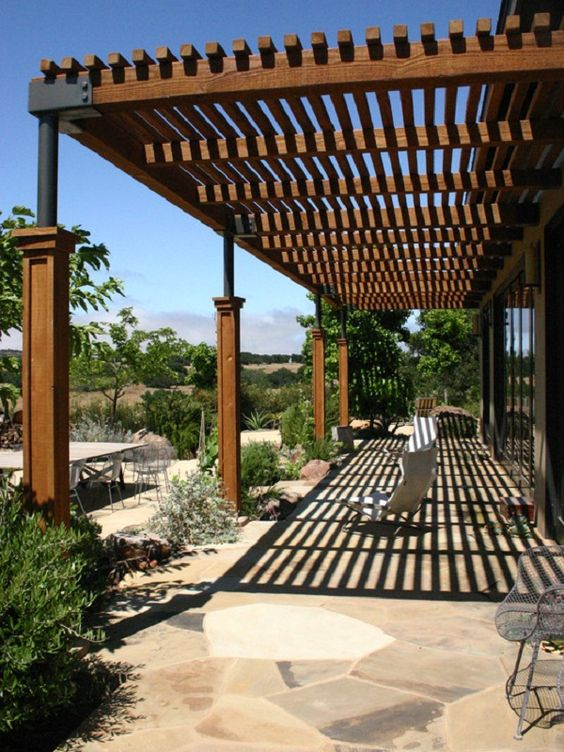 contemporary-long-wood-patio-design