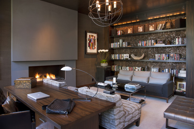 glamorous-contemporary-home-office