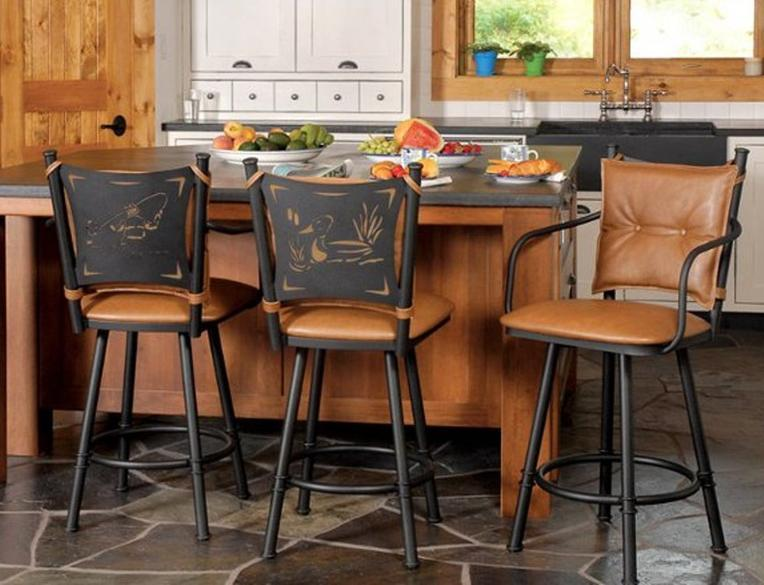 leather-cushioned-bar-stools