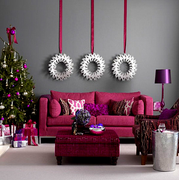 living-room-christmas-deoration