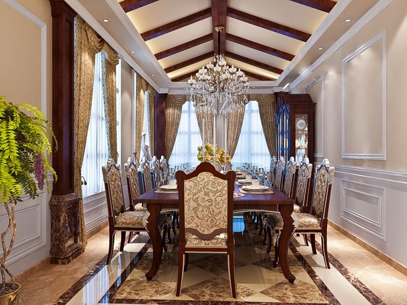 luxurious-dining-room-chandelier
