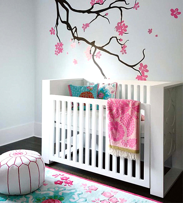 modern-baby-girl-nursery-mural-decoration-ideas