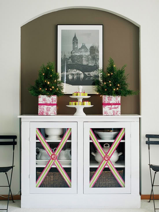 ribbon-embellished-cabinet-doors