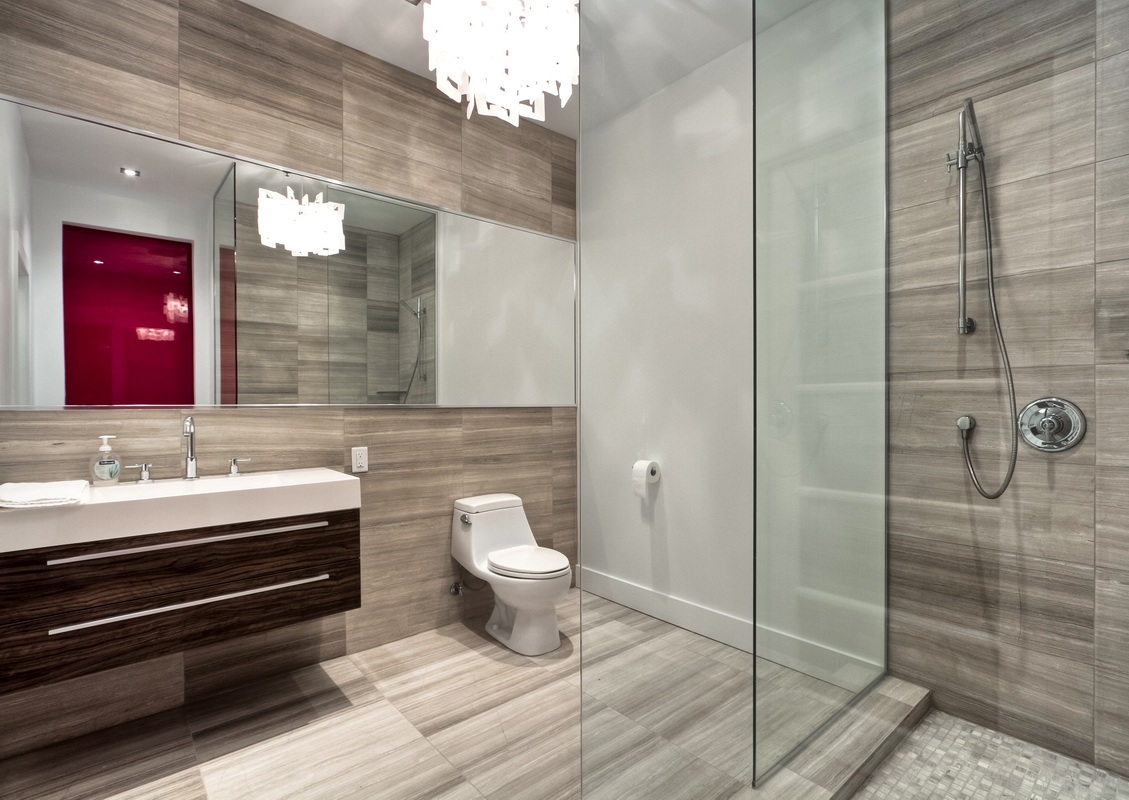 modern-shower-and-bathroom-with-glass-wall-transparent