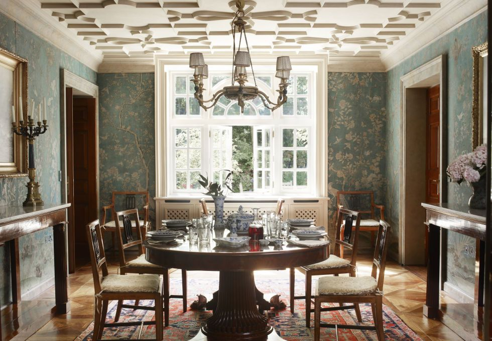 19th Century Style Contemporary Dining Room