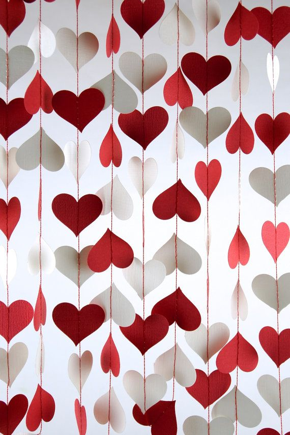 Heart Party Decorations Valentines