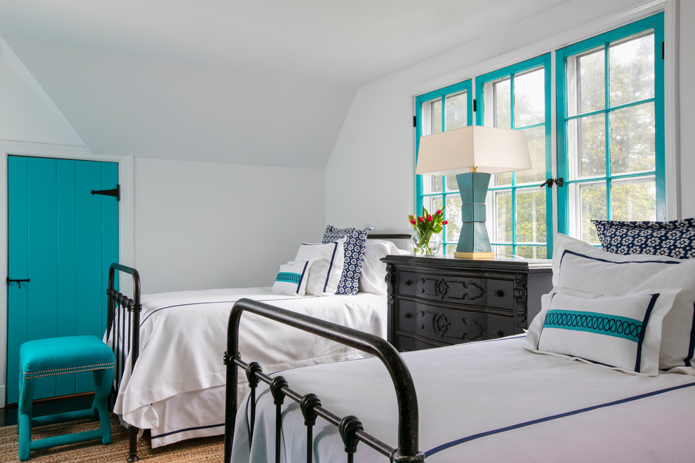 Transitional Guest Bedroom
