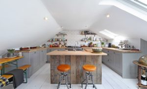 10 Captivating Attic Kitchen Designs