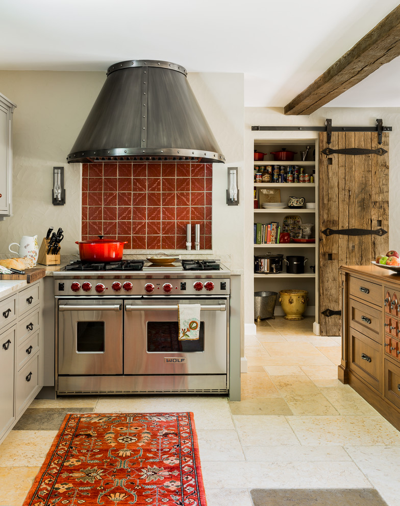 Attic Mediterranean Kitchen
