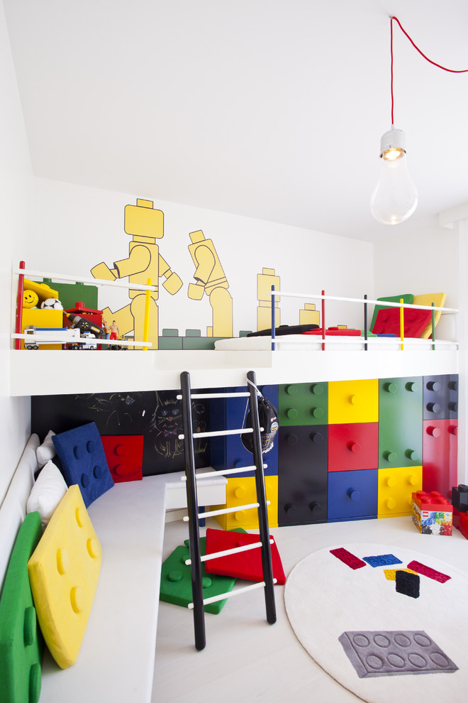 Contemporary Colorful Kids Bedroom