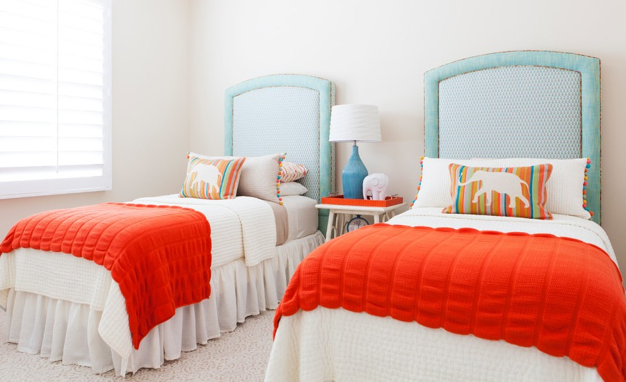 Mediterranean Colorful Kids Bedroom