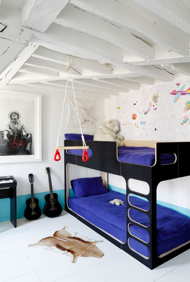 Scandinavian Colorful Kids Bedroom