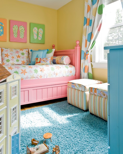 Unique Colorful Kids Bedroom