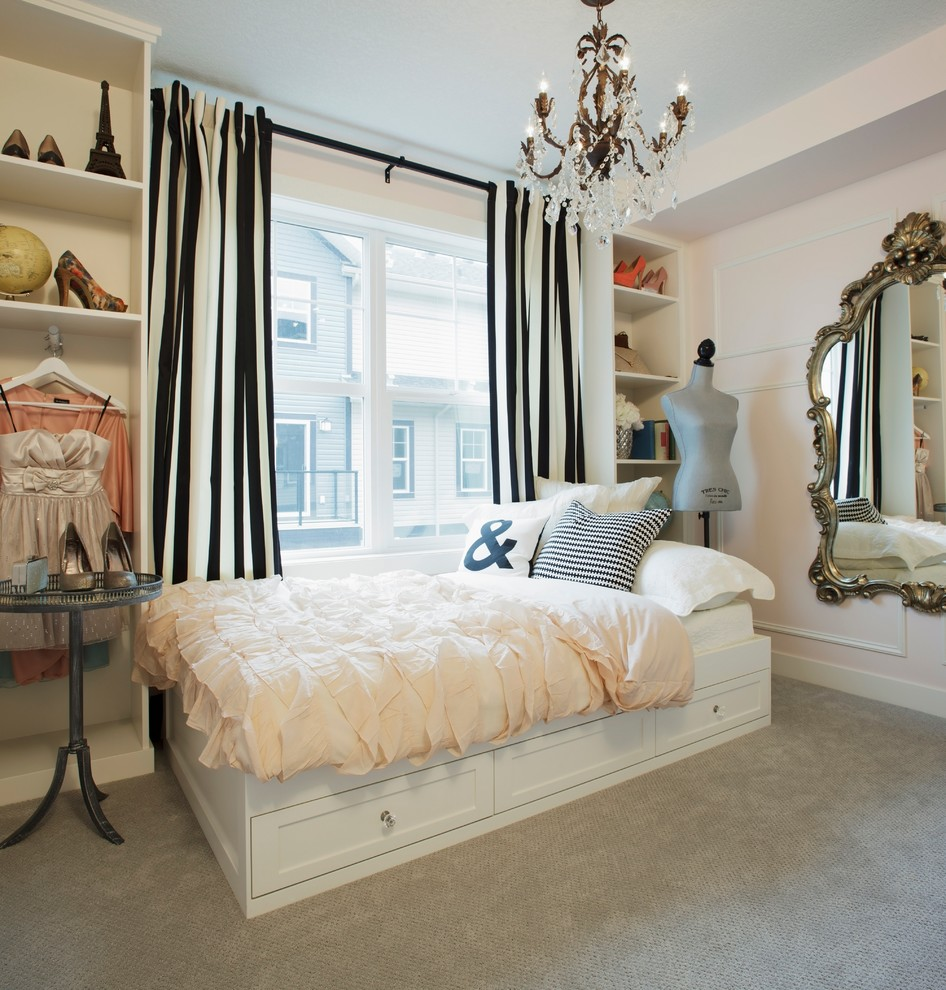 Shabby-Chic Style Bedroom Design
