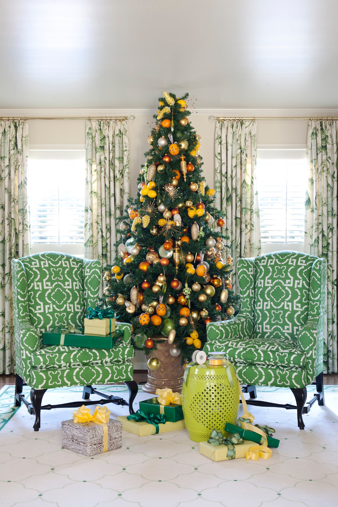 Living Room Christmas Tree Dwellingdecor