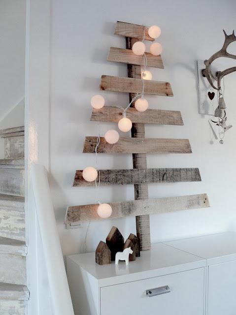 Scandinavian Style Christmas Tree dwellingdecor