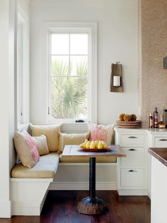 Breakfast Nook Ideas For Your Kitchen dwellingdecor (18)