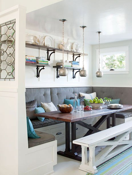 Breakfast Nook Ideas For Your Kitchen dwellingdecor (21)