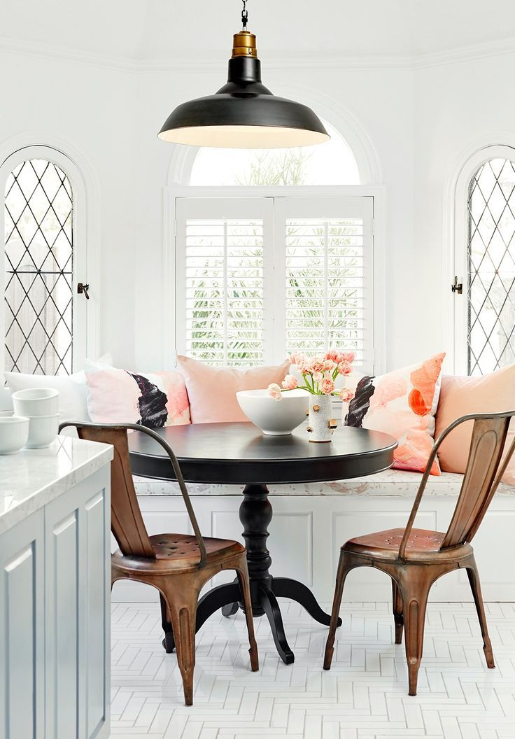 Breakfast Nook Ideas For Your Kitchen dwellingdecor (29)