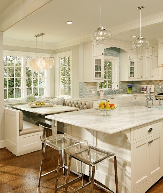 Breakfast Nook Ideas For Your Kitchen dwellingdecor (37)
