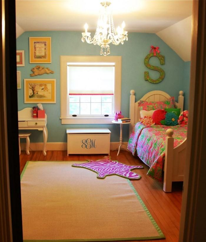 Girl's Attic Bedroom Design Dwellingdecor