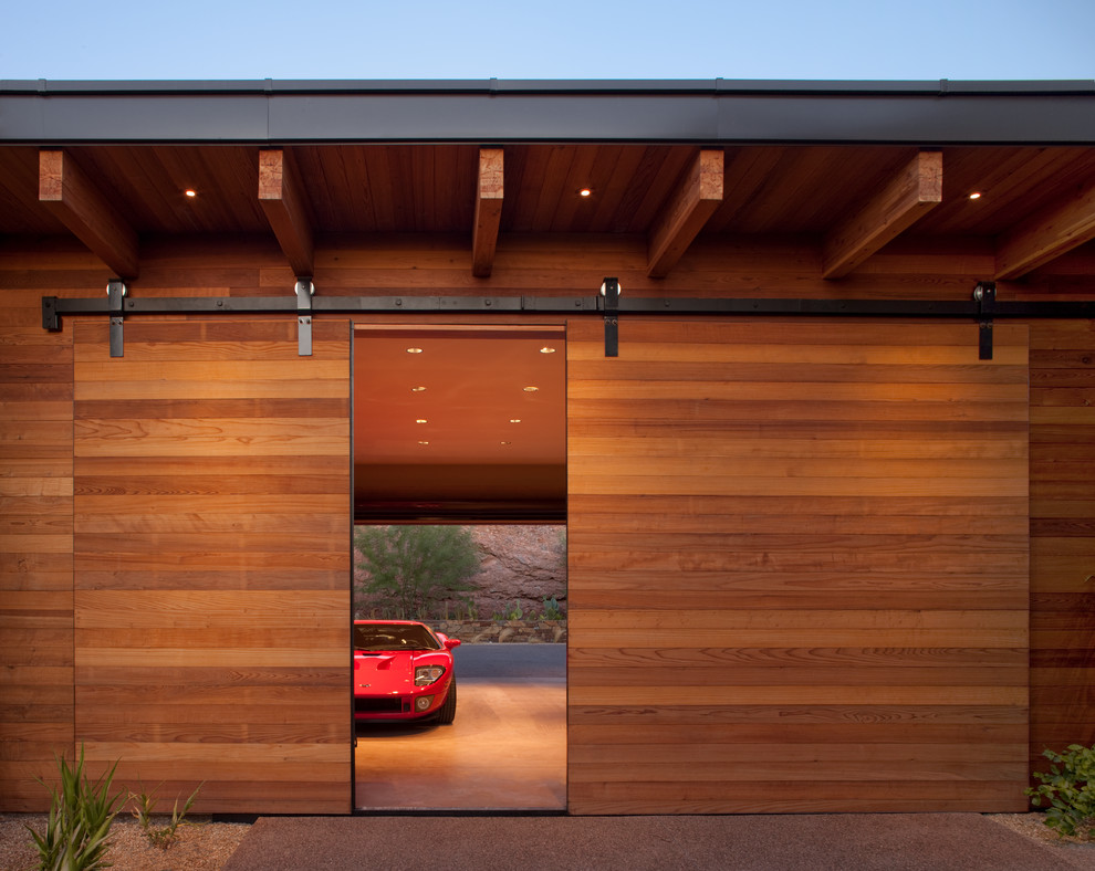 Large Arts And Crafts Three-car Carport Dwellingdecor
