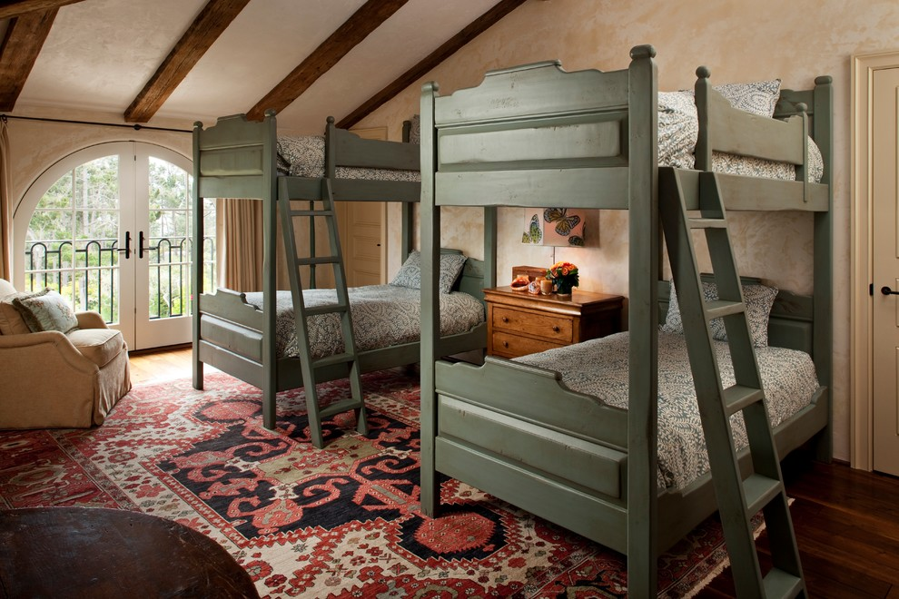 Mediterranean Style Furniture With Multiple Bunk Beds