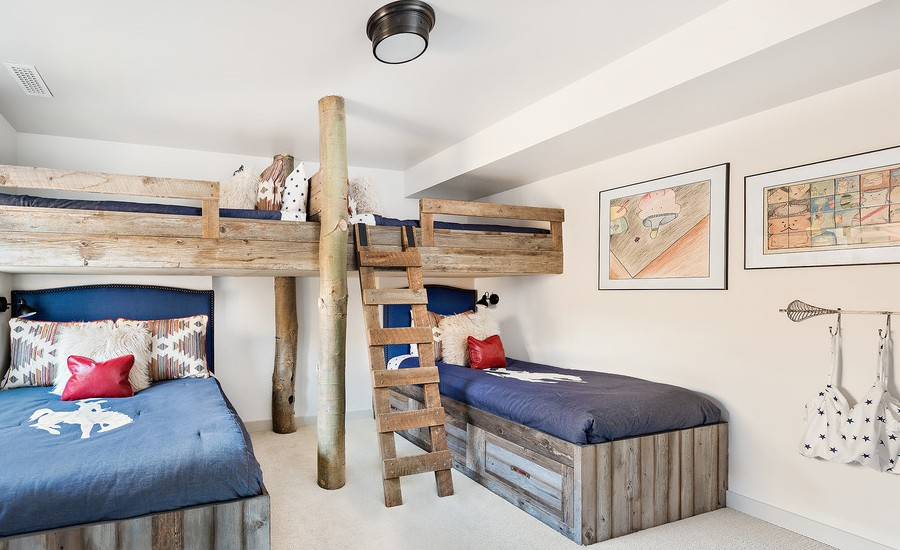 Rustic Mountain Style Kids Bedroom Furniture Dwellingdecor