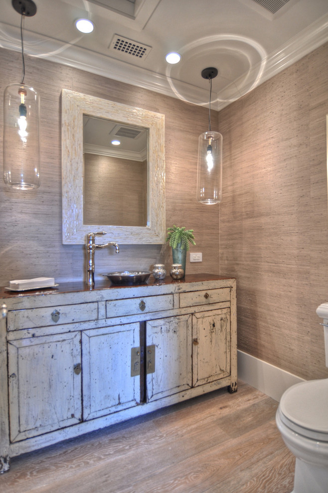 Shabby-Chic Bathroom Lighting Ideas Dwellingdecor