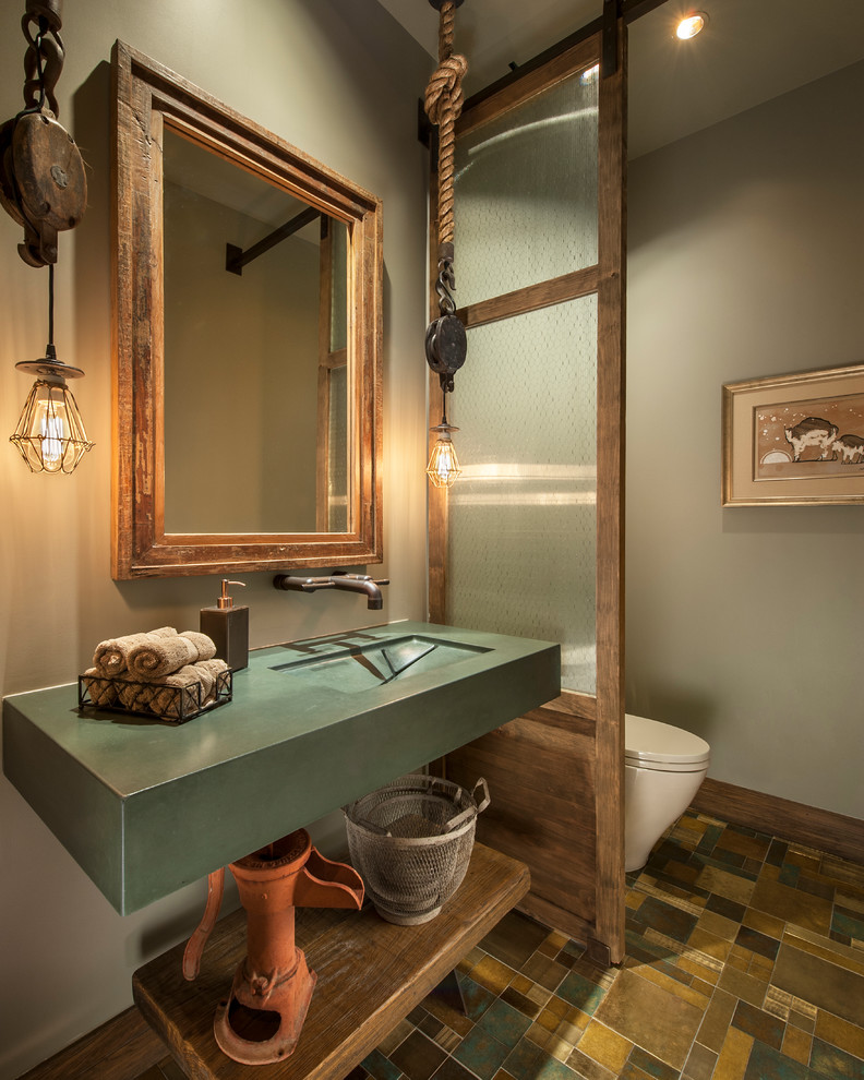 Southwestern Bathroom Lighting Ideas Dwellingdecor