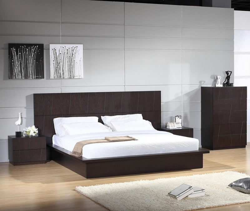 Contemporary Platform Bed (22)