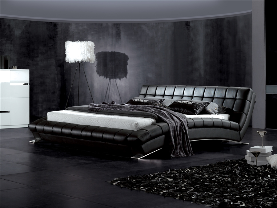 Contemporary Platform Bed (6)