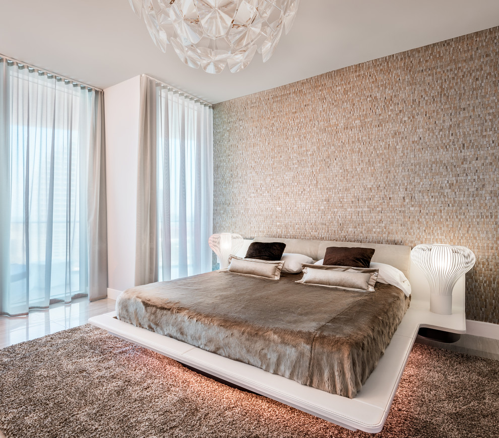 Contemporary Platform Bed (8)