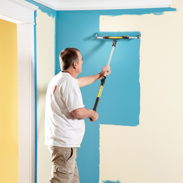 Paint and Plaster Dries Faster in Dry Air Indoors