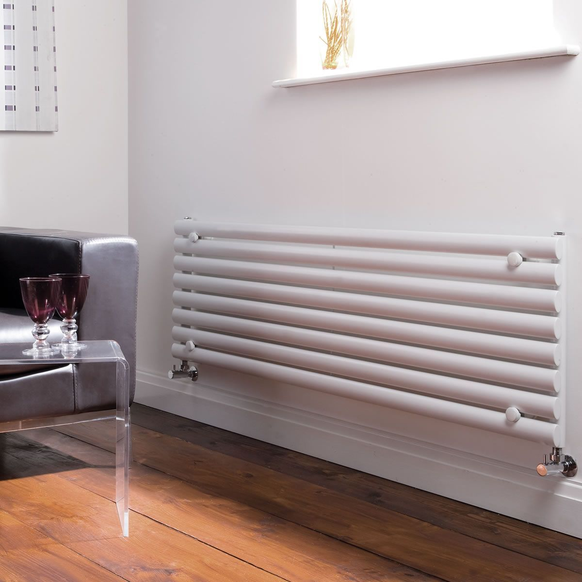 Horizontal radiator